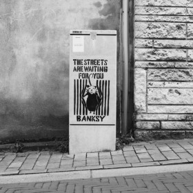 """THE STREETS ARE WAITING FOR YOU"" Brussels Belgium 2014"