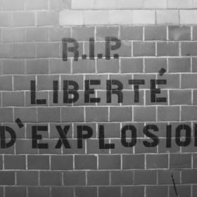 """""""LIBERTÉ D'EXPLOSION"""" Zaventem Belgium 2015"""
