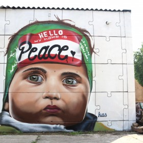 %22HELLO MY NAME IS PEACE%22 Brussels 2016